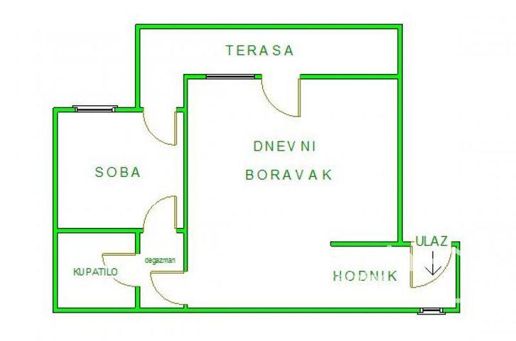 BULEVAR, NOVI SAD, Dvosoban stan, Prodaja, velika slika 1