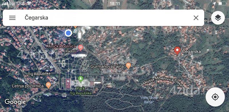 Cegarska, Građevinsko zemljište, Prodaja, velika slika 1