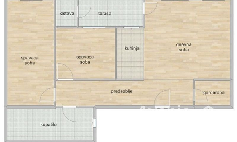 PODBARA, NOVI SAD, Trosoban stan, Prodaja, velika slika 1
