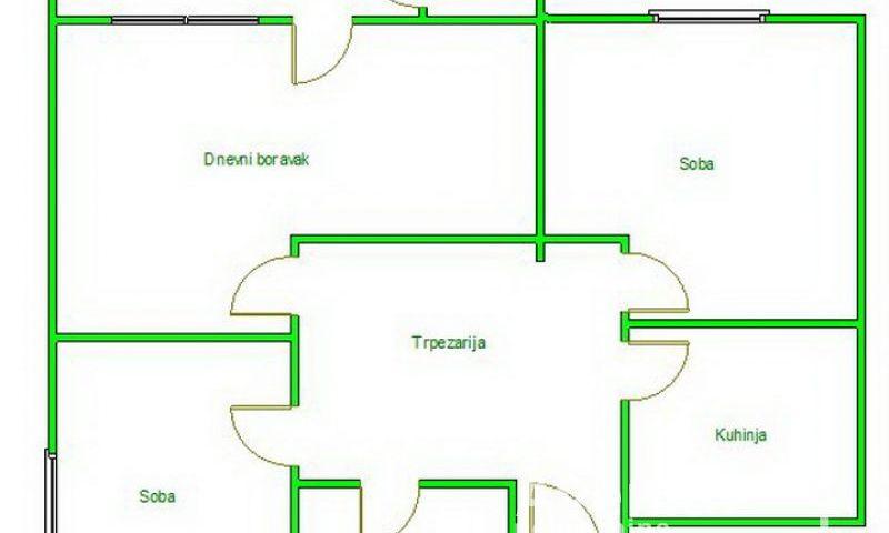 BETANIJA, NOVI SAD, Trosoban stan, Prodaja, velika slika 1