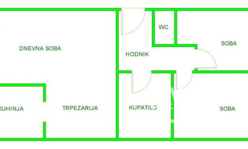 SOMBORSKI BULEVAR, NOVI SAD, Trosoban stan, Prodaja, velika slika 1